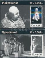 2003 Europa CEPT plakátművészet 2 bélyegfüzet Mi 1341-1342