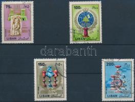 FIDE 4 stamps from set, Nemzetközi Sakkszövetség sor 4 értéke