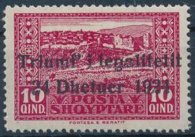 Constitutional overprinted stamp, Alkotmány felülnyomott bélyeg
