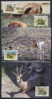 1992 WWF Gazella sor Mi 444-447 4 CM