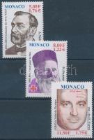 2001 Nobel-díjasok sor Mi 2566-2568