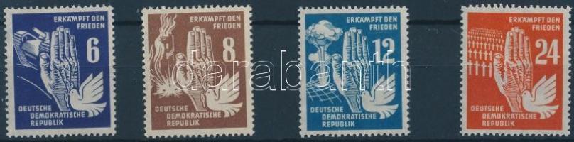 1950 Béke sor Mi 276-279