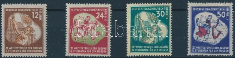 1951 Téli ifjúsági ünnepi játékok sor Mi 289-292