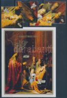 1989 Rembrandt festmény sor Mi 748-751 + blokk Mi 115