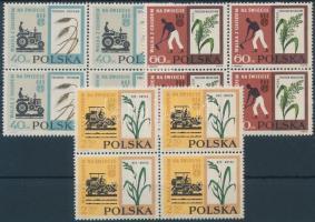 1963 Az éhezés elleni küzdelem sor 4-es tömbökben Mi 1371-1373