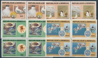 1981 Nemzeti park; Állat sor négyestömbökben Mi 741-744