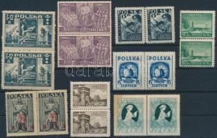 1919-1948 10 db klf pár