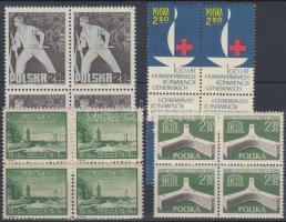 1948-1963 4 db klf 4-es tömb