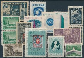 1939-1963 15 stamps with sets, 1939-1963 15 db bélyeg, közte teljes sorok párok