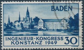 Baden 1949 Európai Mérnöki konferencia Mi 46 II