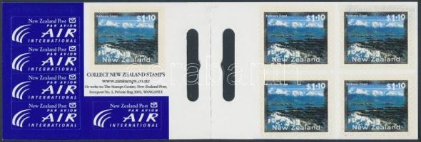 Landscapes stamp booklet, Tájak bélyegfüzet