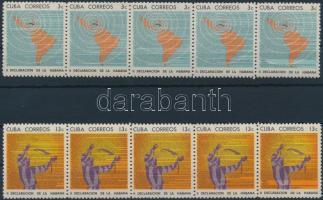 Havana declaration 2 stripes of 5, Havannai nyilatkozat 2 ötöscsík