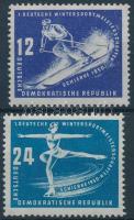 1950 Téli sport bajnokság sor Mi 246-247