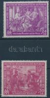 1950 Lipcsei tavaszi vásár sor Mi 248-249