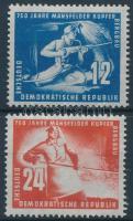 1950 Mansfeld rézbánya sor Mi 273-274