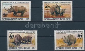 WWF rhino set, WWF orrszarvú sor