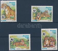 1984 WWF Tigris sor Mi 706-709