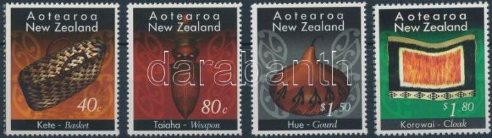 Crafts 4 stamps, Kézművesség 4 érték