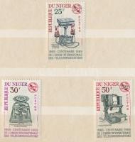 1964-1965 13 klf bélyeg, benne 2 klf sor zseb berakóban