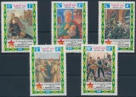 1987 Októberi forradalom sor Mi 1050-1054