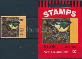 Bird stamp and stamp booklet, Madár bélyeg és bélyegfüzet