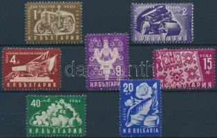 1951 Nemzetgazdaság sor Mi 786-792