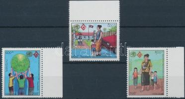 1994 A család nemzetközi éve ívszéli sor Mi 1424-1426
