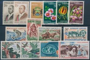 1962-1965 14 stamps with sets, 1962-1965 14 db bélyeg, közte teljes sorok