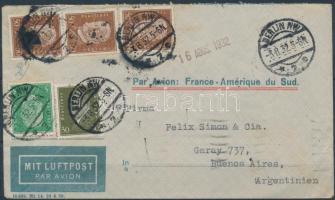 1932 Légi levél Argentínába