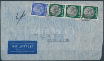 1936 Légi levél Argentínába