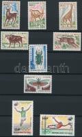 1965-1969 15 db bélyeg, közte teljes sorok 2 lapos kis berakóban