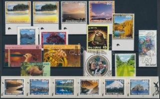 20 stamps, 1 minisheet, 1 stampbooklet, 20 db bélyeg, 1 kisív és 1 bélyegfüzet