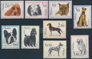 1963 Kutyák sor Mi 1374-1382
