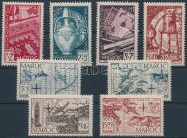 1949 Szolidaritás sor Mi 307-314 + blokk 3-4