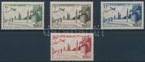 1952 Ki nem adott Légiposta bélyegek sor Mi I-IV