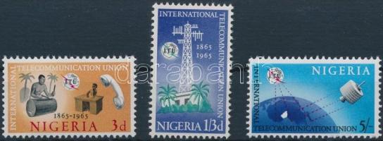 1965 100 éves Nemzetközi Távközlési Unió sor Mi 166-168