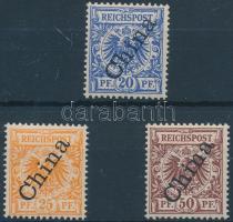 Kína 1898 Mi 4 II -6 II