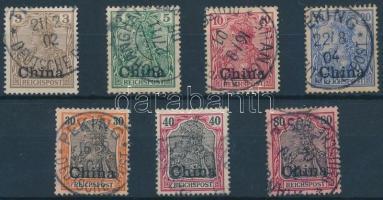 Kína 1901 Mi 15a-18, 20-21, 23