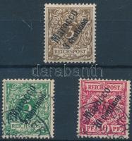 Marokkó 1899 Mi 1-3a