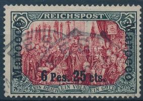 Marokkó 1900 Mi 19 I