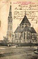 Budapest I. Szilágyi Dezső tér, Református templom (wet corner / ázott sarok)