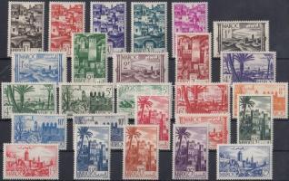 1947/1949 Városok sor Mi 242-267