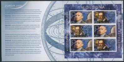 2009 Europa CEPT bélyegfüzet MH 14 B (Mi 650-651 B)