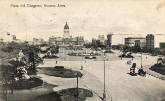 Buenos Aires, Plaza del Congreso / square, National Congress