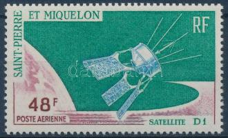 """""""D 1"""" French satellite, """"D 1"""" francia műhold"""