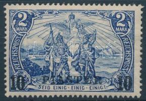 Törökország 1900 Mi 21 I II (töredezett gumi / broken gum)