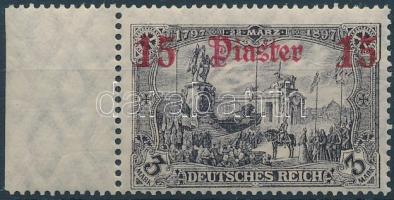 Törökország 1905 Mi 46a ívszéli / margin piece