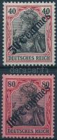Törökország 1908 Mi 51-52