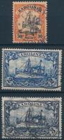 Karolinen 1900 Mi 12, 17-18