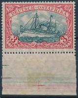Deutsch Ostafrika 1905 Mi 39 B ívszéli